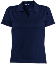 Lansing Eastern High School Quakers Ladies Dri-Mesh Short Sleeve Polos