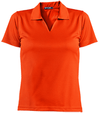 Fort Lee Elementary School #1 School Ladies Dri-Mesh Short Sleeve Polos