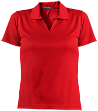 Charles E Jordan Senior H S Falcons Ladies Dri-Mesh Short Sleeve Polos