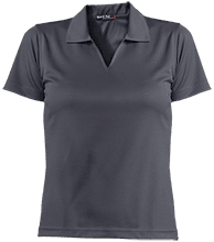 Dwight D. Eisenhower Elementary Sch (Level: 6-8) School Ladies Dri-Mesh Short Sleeve Polos