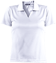 All Saints Junior High School Ladies Dri-Mesh Short Sleeve Polos