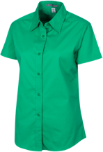 South Fayette Middle School Lions Short Sleeve Easy Care Shirt for Her