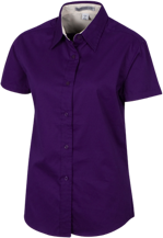 Anna Lawrence Intermediate School School Short Sleeve Easy Care Shirt for Her