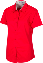Cross Hollows Intermediate School School Short Sleeve Easy Care Shirt for Her