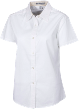 Clyde Brown Elementary School School Short Sleeve Easy Care Shirt for Her