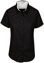 Barrie School School Short Sleeve Easy Care Shirt for Her
