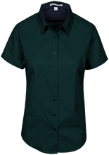 The Computer School Terrapins Short Sleeve Easy Care Shirt for Her