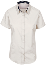 Curtis Middle School School Short Sleeve Easy Care Shirt for Her