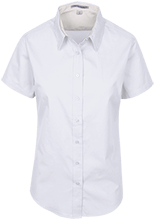 Pixie School School Houses Short Sleeve Easy Care Shirt for Her