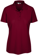 Chippewa Middle School-Okemos Chiefs Ladies Embroidered Stain Resistant Sport Shirt