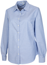 Snow Hill Elementary School Hawks Ladies' Long Sleeve Oxford Shirt