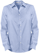 PS 156 Queens School Ladies Long Sleeve Oxford Shirt