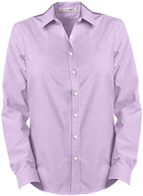 Anna Lawrence Intermediate School School Ladies Long Sleeve Oxford Shirt