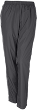 Bridge Creek Middle School School Womens Embroidered Piped Wind Pants