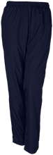 Saunders Trades & Tech High Sch Blue Devils Personalized Ladies Warm-Up Track Pant
