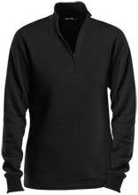 Central Middle School School Ladies 1/4 Zip Sweatshirt