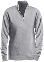 Lawrence West School Ladies 1/4 Zip Sweatshirt