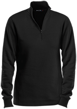 Manchester East Soccer Ladies 1/4 Zip Sweatshirt