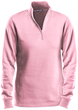Alfred Lawless Senior High Pythians Ladies 1/4 Zip Sweatshirt