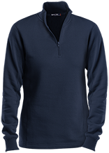 Seward High School Bluejays Ladies 1/4 Zip Sweatshirt