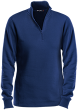 Lewiston Middle School Blue Demons Ladies 1/4 Zip Sweatshirt