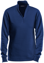 Columbus Elementary School School Ladies 1/4 Zip Sweatshirt