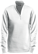 Cleaning Company Ladies 1/4 Zip Sweatshirt
