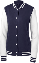 Clearwater Junior Academy School Ladies Fleece Letterman Jacket
