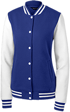 Pioneer Elementary School Scouts Ladies Fleece Letterman Jacket