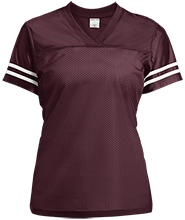 William Grace Elementary School Mustangs Ladies Replica Jersey