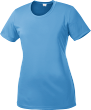 St. Francis Flyers Ladies Short Sleeve Moisture-Wicking Shirt