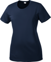 Swampscott High School Big Blue Ladies Short Sleeve Moisture-Wicking Shirt