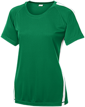Kelvin Grove Middle School Hornets Ladies Colorblock Polyester Tshirt