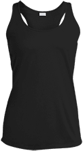 Appling Middle Wildcats Ladies Racerback Moisture Wicking Tank
