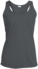 Bachelor Party Ladies Racerback Moisture Wicking Tank