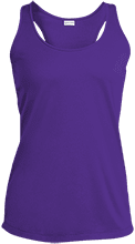 Corona Christian School Eagles Ladies Racerback Moisture Wicking Tank
