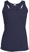 Viking Alternative School School Ladies Racerback Moisture Wicking Tank