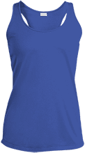 Ann Arbor Christian School School Ladies Racerback Moisture Wicking Tank