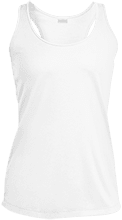 North Center School Frogs Ladies Racerback Moisture Wicking Tank
