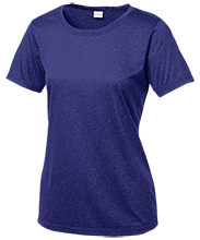 Saratoga Independent School Blue Streaks Ladies Heather Dri-Fit Moisture-Wicking T-Shirt