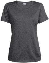 Breast Cancer Ladies Heather Dri-Fit Moisture-Wicking T-Shirt