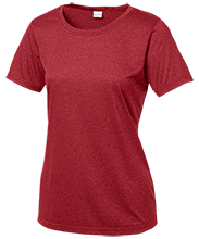 Julian O. Strong Middle School Cardinals Ladies Heather Dri-Fit Moisture-Wicking T-Shirt