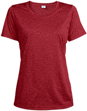 Bucyrus Middle School Redmans Ladies Heather Dri-Fit Moisture-Wicking T-Shirt