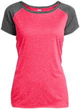 Manchester East Soccer Ladies Heather on Heather Performance T-Shirt