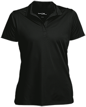 Breast Cancer Womens Micropique Sport-Wick® Polo