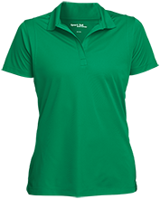 Clinton Elementary School Comets Womens Micropique Sport-Wick® Polo