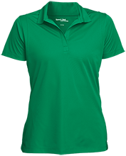 Lime Kiln Middle School Leopards Womens Micropique Sport-Wick® Polo