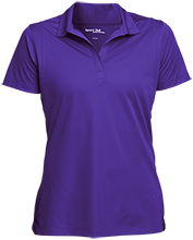 A H Parker High School Bison Womens Micropique Sport-Wick® Polo