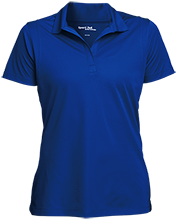 Milnor High School Bison Womens Micropique Sport-Wick® Polo