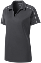 North Harford High School Hawks Ladies Micropique Sport-Wick Piped Polo